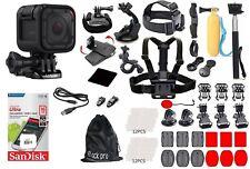 GoPro HERO 4 Session + (60) Pcs Extreme Sports Accessory Kit Complete Bundle