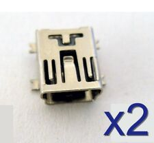 2m black blue Bulgin USB 2.0 cable 1x Micro-USB-plug - 1x USB 2.0 jack A