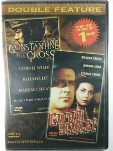 Double Feature Constantine And The Cross And Captain Scarlet DVD New