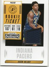 2018-19 Panini Contenders Rookie Ticket Swatches #RT-AHD Aaron Holiday Pacers