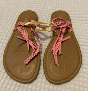 Girls Size 12 (31 Euro ) Sandals - Worn Very Little