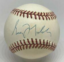 Greg Maddux Single Signed Baseball Autographed PSA/DNA COA Braves Cubs HOF