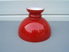 Aladdin 23 oil lampshade Cherry Red lamp shade VGC   LS3