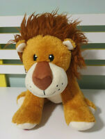 BUILD A BEAR LION LARGE HEARTED LION WITH HEARTBEAT INSIDE! LION TOY!
