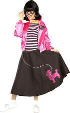 Forum Novelties Nifty Fifties 50's Woman Poodle Skirt Jacket Adult Costume