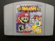 Super Smash Bros Brothers Nintendo 64 N64 Authentic EXMT- condition game cart