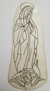 vintage tattoo original acetate flash stencil virgin angel bert grimm pike 2x5