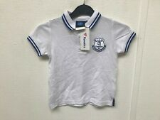 Everton FC Official Men/'s Goodison 125 Years Polo Shirt New White