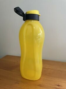 Tupperware New Eco Water bottle 2L Yellow