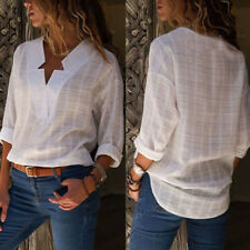Fashion Women Long Sleeve Loose Chiffon Blouse T-Shirt Summer Casual Blouse Tops