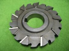 Staggered Side Milling Cutter 18T 3-3/4 x .555 x 1-1/4
