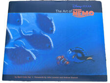 Autographed Art of Finding Nemo 2003 HCDJ Book Signed By Director Andrew Stanton