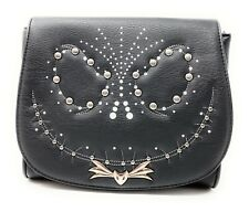Loungefly Disney Nightmare Before Christmas Jack Studded Flap Crossbody Bag New
