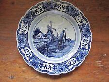 Beautiful Delfts Blauw Handpainted hanging plate