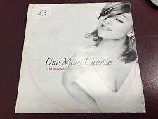 MADONNA ONE MORE CHANCE/YOU'LL SEE IMPORT UK CD BONUS
