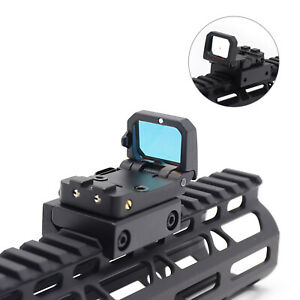 New Flip up Red Dot Reflex Sight in Black with 20mm Picatinny Mount Holografica