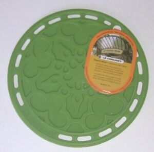 Le Creuset PALM GREEN Silicone Trivet NWT