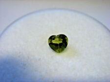 Heart Natural Loose Peridots