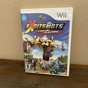 Excitebots: Trick Racing (Nintendo Wii, 2009) With Manual