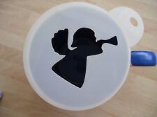LASER CUT Angel Tromba design caffè e Craft Stencil