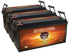 qty3 SLR200 Solar Wind Power Backup 600 AH 12V deep cycle AGM 12 volt Battery
