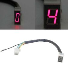 LED Universal Digital Gear Indicator Motorcycle Display Shift Lever Sensor TS