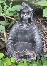 """Latex candle holder grim reaper mold garden mould 3.5""""H x 3"""""""