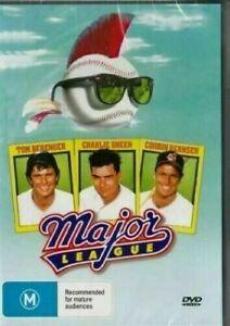 Major League DVD Charlie Sheen New & Sealed Australia