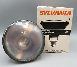 Sylvania PAR 38 Mercury Lamp H44GS 100 Watts 100W Medium Skirt Screw Base Spot