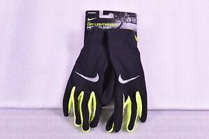 Men's Nike Dry Lightweight Dri - Fit Technology, Black / Neon Yellow, Medium