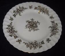 """Minton China, MARLOW GOLD, H-5017, Gold Flowers Scalloped, 6 1/4"""" Bread Plate"""