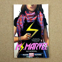 Ms. Marvel Volume 1 No Normal Ms. Marvel Graphic Novels G Willow Wilson