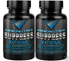 2 bottles Absonutrix Super Suppress Synephrine Fat loss Bitter Orange slim fast