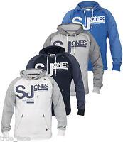 Smith & Jones New Mens Printed Hoodie Sweatshirt Hooded Pull Over Casual Top