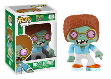 Funko Pop Games Plants VS Zombies #03 Disco Zombie RARE Vinyl Fast Post