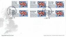 (43096) GB FDC PHILAKOREA Post and Go Windsor 2014