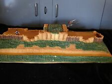 """CONTE CIVIL WAR PLAYSET  TERRAIN ENTRENCHMENTS APPROX 29"""" WIDE LFTCV"""
