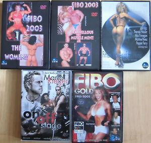 Bodybuilding/Fitness-Paket, 10 DVDs, Info DVDs