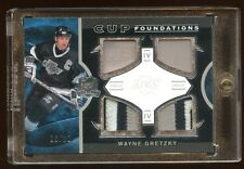 WAYNE GRETZKY 2012 THE CUP QUAD PATCHES #D /10  AMAZING CARD FOR THE GREAT ONE !