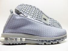 NIKE AIR MAX WOVEN BOOT WOLF GREY/WOLF GREY-WHITE SIZE MEN 11.5 [921854-001]