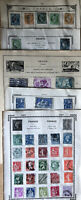 France Stamp Collection On 10 Pages