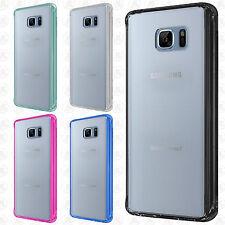 For Samsung Galaxy Note 7 TPU Gel GUMMY Protector Hard Skin Case +Screen Guard