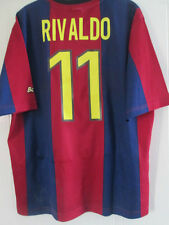 Barcelona Rivaldo 1998-2000 Home Football Shirt Size  Large mans /38096