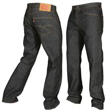 9e2402b3 Levis 501 Button Fly Jeans Shrink To Fit Mens Many Sizes Colors New W Tags  Black
