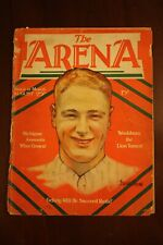 VINTAGE AUGUST 25 1929 THE ARENA BOXING MAGAZINE LOU GEHRIG