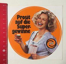 ADESIVI/Sticker: TOTO LOTTO-prosit sui profitti SUPER (060516137)