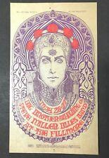 1967 Bill Graham Bg65 Postcard Big Brother and the Holding Company Steve Miller