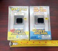 Lot of 2 Super Impulse Tiny Arcade PAC-MAN & Ms.Pac-Man Handheld Retro Games