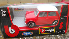 BURAGO MINI COOPER SCALA 143