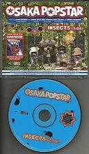 OSAKA POPSTAR Insects w/ MISFITS Black Flag THE RAMONES Voivod PROMO CD single